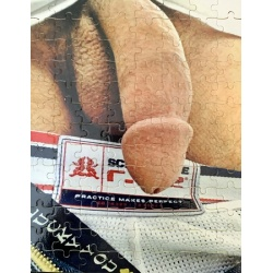 Up Close Big Fat Penis #10, Explicit Adult NOVELTY JIGSAW PUZZLE
